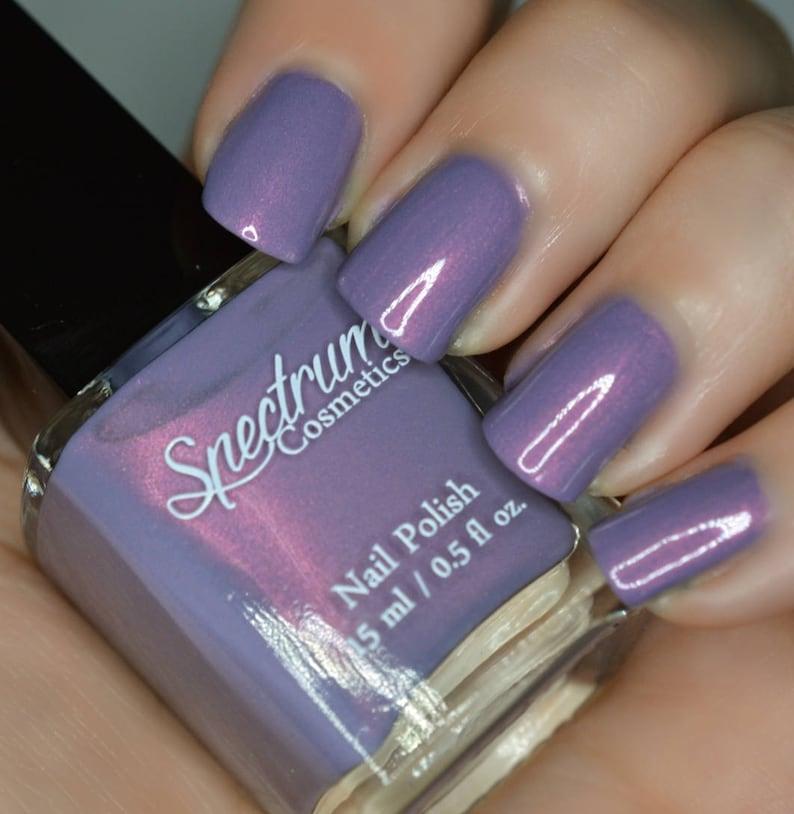 SEANCE Purple Duochrome Nail Polish | Etsy
