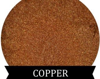 Shimmery Copper eyeshadow