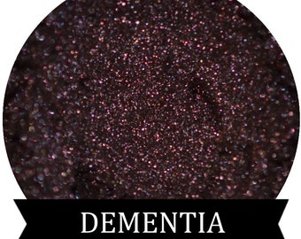Dark Purple Mineral Eyeshadow DEMENTIA