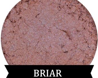 Mineral Eyeshadow Salmon with Blue Duochrome  BRIAR