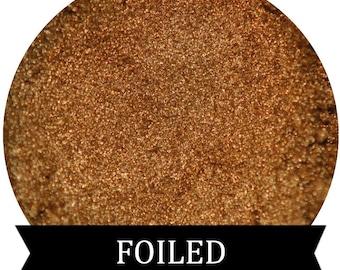 Metallic Gold Eyeshadow FOILED