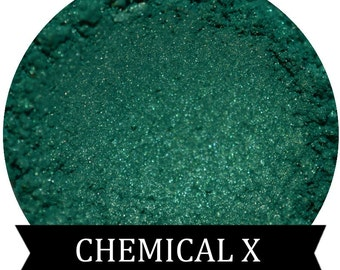Teal Green Eyeshadow  CHEMICAL X