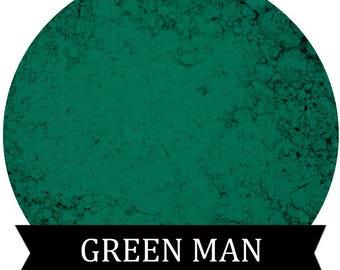 Matte Green Eyeshadow  GREEN MAN