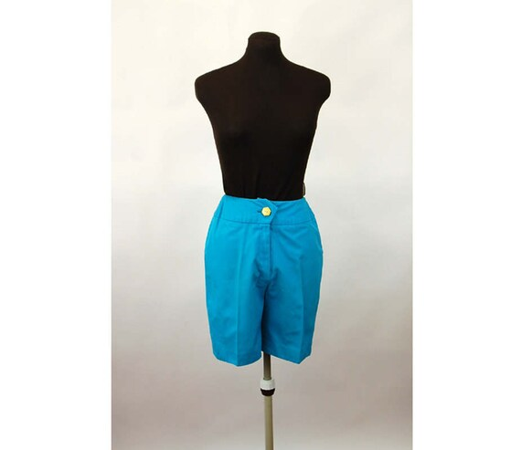 1960s shorts Bermuda shorts turquoise blue Bill At