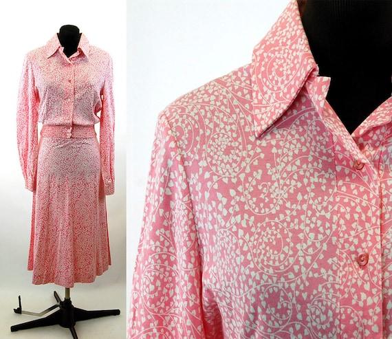 Diane Von Furstenburg dress 1970s knit two piece s