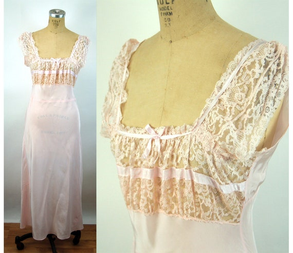 Pink rayon bias nightown Festival Dress Streetwear