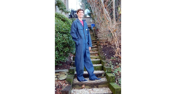 Big Mac JC Penney denim coverall overall mechanic