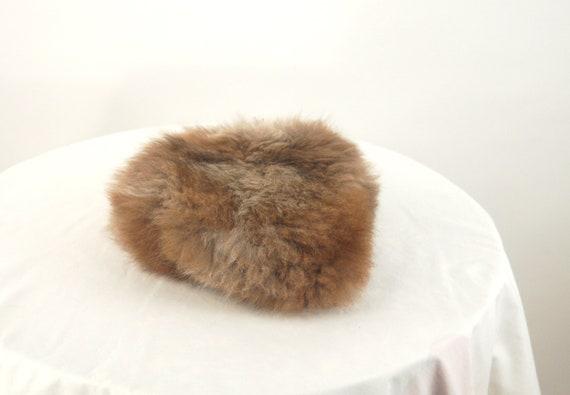 1960s fur hat possum fur hat Russian style hat - image 5