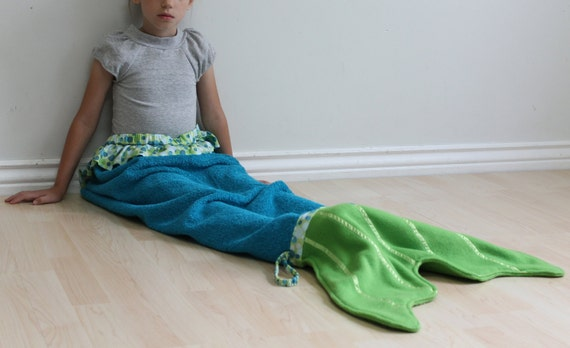 Mermaid Tail Towel Swimsuit Cover Beach Pool Wrap Waverly Etsy