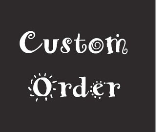 Reserved Order for Julia Chigamba