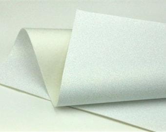 Iridescent White Glitter - Glitter Wool Felt Sheets - You choose size