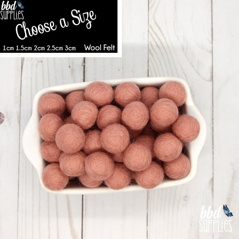 1.5cm Handmade 100/% Wool Grey Color Felt Ball Beads Pom Pom DIY Craft Supplies