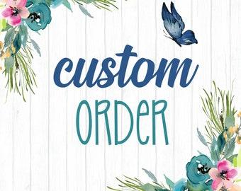Custom listing for Gary