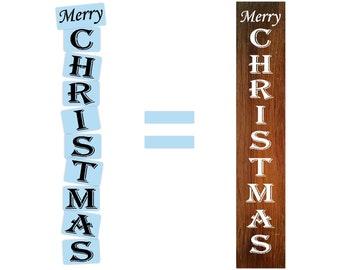 Christmas Stencils For Wood.Christmas Stencil Etsy