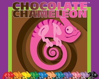 Chocolate Candy Color, Chocolate Chameleon Candy Color, Chocolate Candy Coloring, Red Candy Color, Black Candy Color, Teal Candy Color