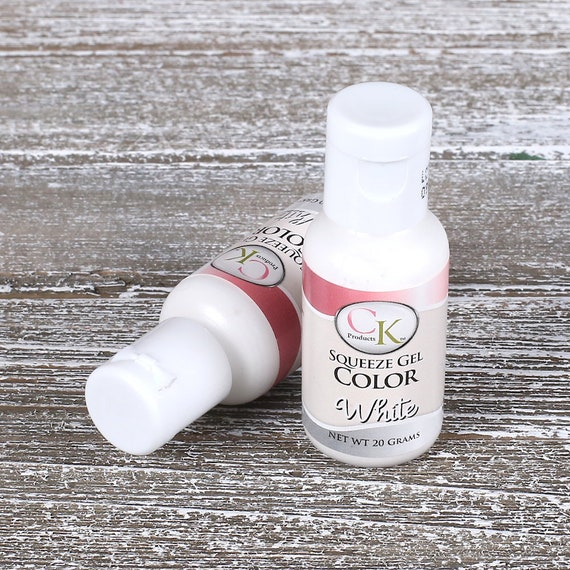 White Food Coloring, Cake Decorating, White Frosting Dye, CK ...