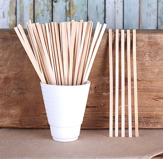 Wooden Beverage Stirrers Hot Cocoa Stirrers Coffee Stirrers Thin