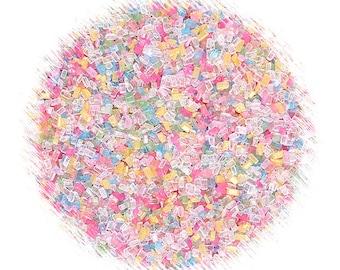 Party Pastel Rainbow Sparkling Sugar Sprinkles Mix, Pastel Rainbow Sprinkles, Pastel Sprinkles, Cupcake Sprinkles, Easter Sprinkles