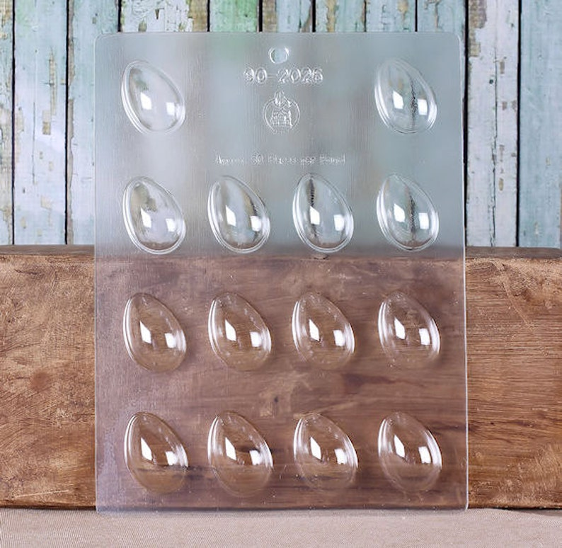 Egg Easter Chocolate Mould or Easter Egg Chocolate Mould