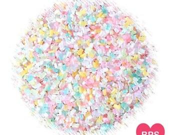 Shimmer Pastel Sparkling Sugar, Pastel Sprinkles, Cookie Sprinkles, Cupcake Sprinkles, Edible Sprinkles, Pastel Rainbow Sprinkles