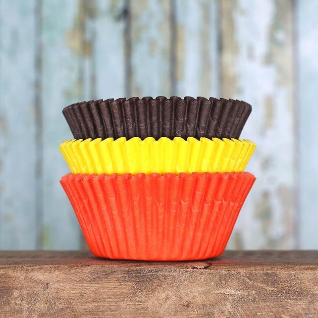 Thanksgiving Cupcake Liners, Thanksgiving Baking Cups, Thanksgiving Cupcake Wrappers, Thanksgiving Muffin Wrappers, Fall Cupcake Liners
