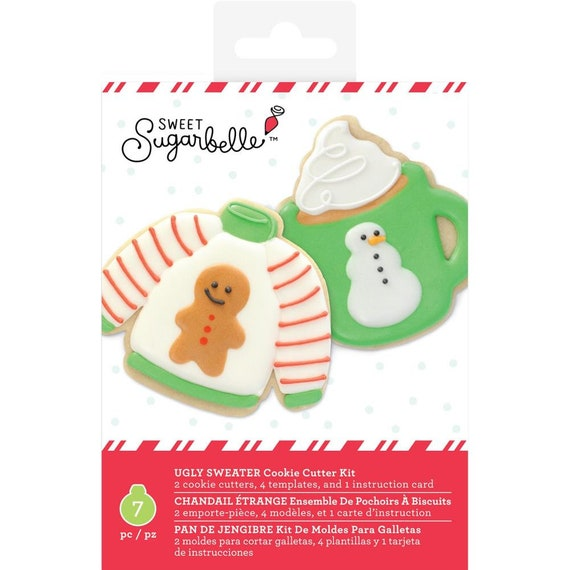 Ugly Sweater Cookie Cutters Hot Cocoa Mug Cookie Cutter Sweet