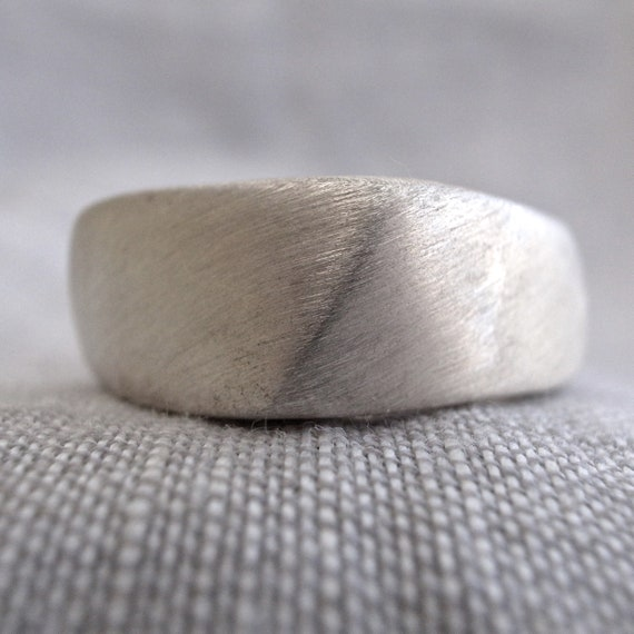 square cast ring - narrow
