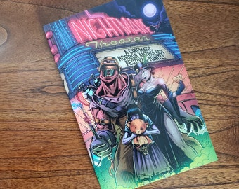 NIGHTMARE THEATER - A Horror Comic Anthology, sketched and signed