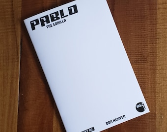Pablo the Gorilla #1 Cover B: Blank Sketch variant