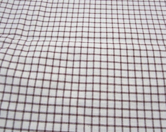 Homespun Plaid Quilting/Home Decor fabric  1 yard and 22 inches
