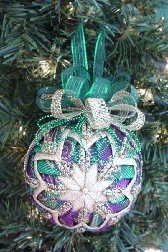 Quilted Christmas Ornament Pattern Pdf Tutorial Hc By Christmasornament On Etsy