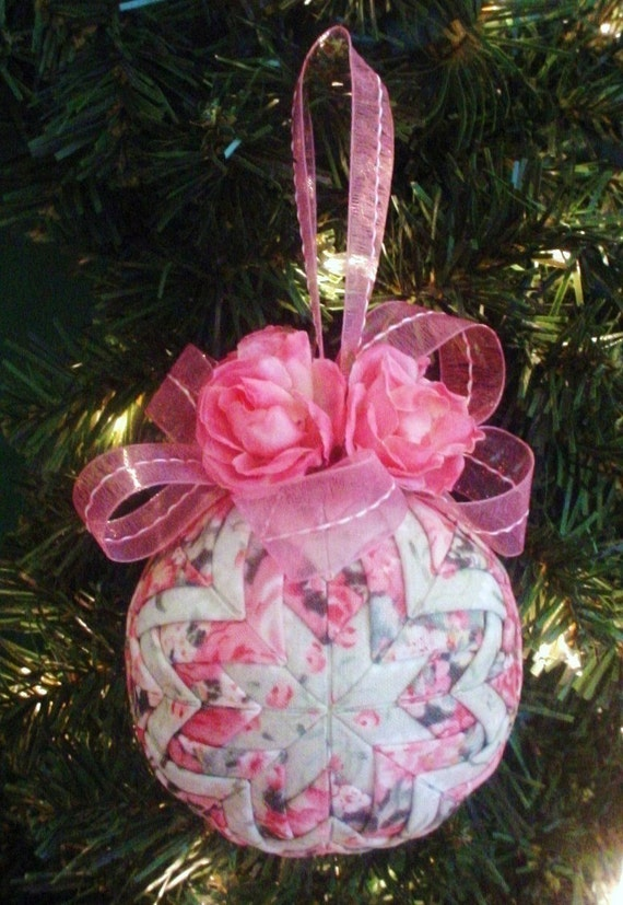 Quilted Christmas Ornaments.Quilted Christmas Ornament Tutorial Pattern Pdf Holidays Handmade Christmas Instant Download