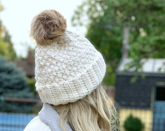 Crochet Hat Pattern - Brighton Alpine Crochet Hat Pattern
