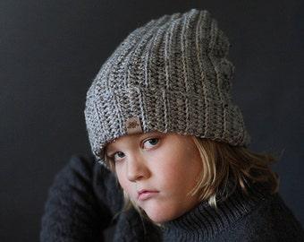 Crochet Slouchy Beanie  PATTERN Huntsman Slouchy Hat Pattern Includes 8 Sizes