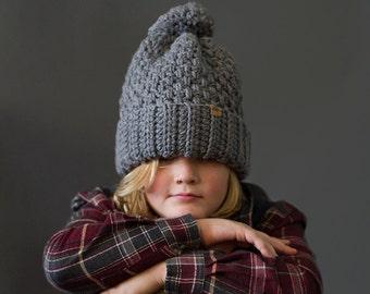 CROCHET PATTERN - Crochet Brighton Alpine Ski Hat - Crochet Hat Pattern - Crochet Beanie Pattern -  Crochet Patterns - Instant PDF Download