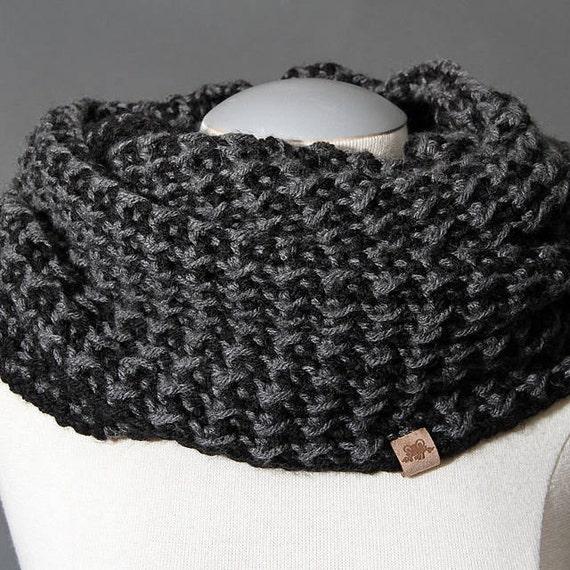 Brookside Cowl Mens Crochet Cowl Pattern Easy Crochet Cowl Etsy