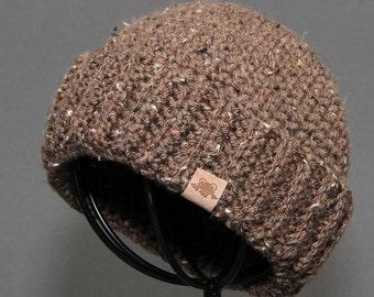Crochet PATTERN Fishermans Cap Crochet Hat Pattern Includes 5 Sizes Newborn to Adult