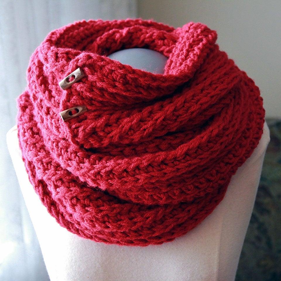 Crochet Pattern Huntsmen Crochet Cowl Pattern Etsy
