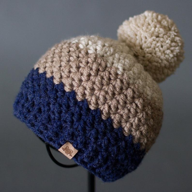 Mens Crochet Beanie Pattern Crochet Rainer Beanie Pattern Etsy