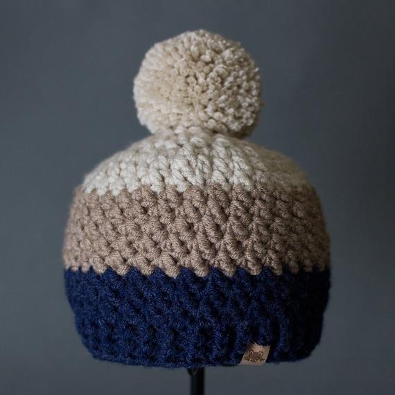 Crochet Pattern Rainer Beanie Crochet Hat Pattern Includes 6 Etsy