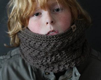 Crochet PATTERN Montero Crochet Cowl Pattern Toddler, Child, Adult