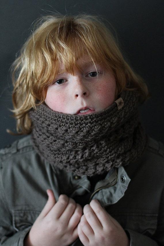 Crochet Pattern Montero Crochet Cowl Pattern Toddler Child Etsy