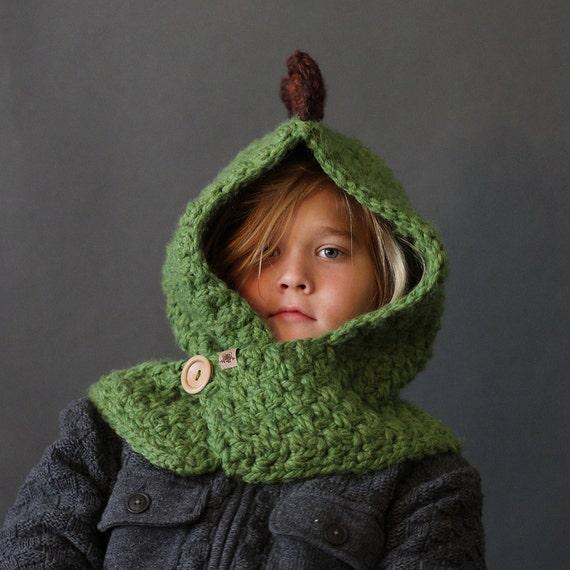 Crochet Pattern Hooded Dino Cowl Crochet Hood Pattern Includes Etsy
