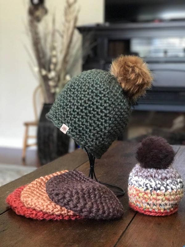 Super Bulky Crochet Hat Pattern For Beginners With Video Etsy