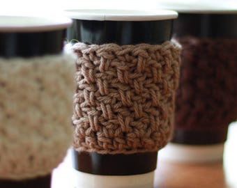 FREE CROCHET PATTERN with Video Tutorial Crochet Cup Cozy Buy here or get for free on my blog