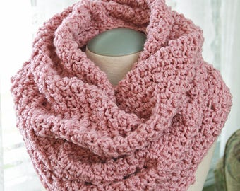 CUMBERLAND COWL - Crochet Neck Warmer Pattern - Crochet Ladies Cowl Pattern - Feminine Crochet Cowl Pattern - Crochet Cowl Pattern - Crochet