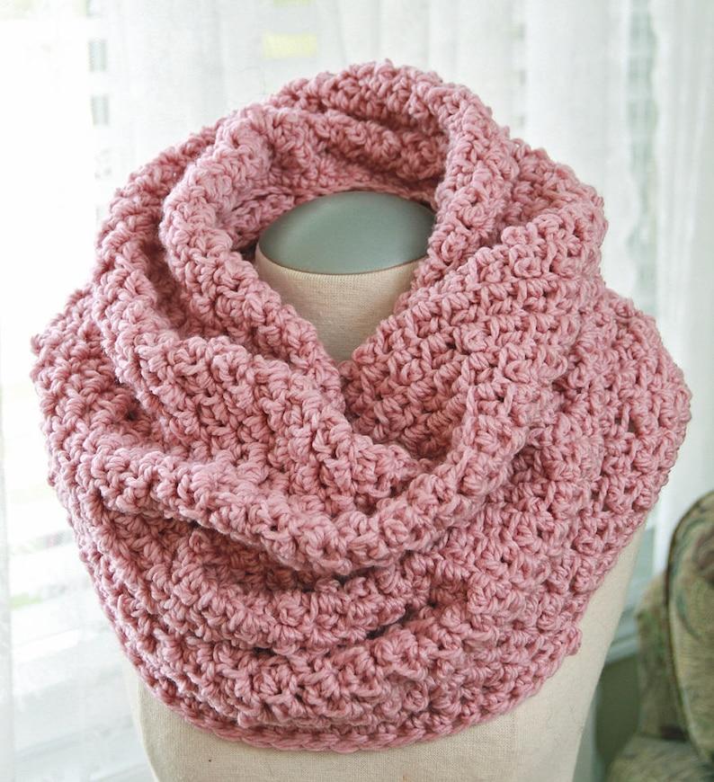 Cumberland Cowl Crochet Neck Warmer Pattern Crochet Ladies Etsy