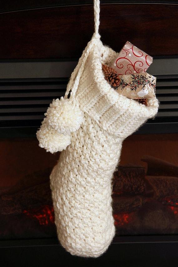 Crochet Christmas Stocking Pattern Crochet Pattern Crochet