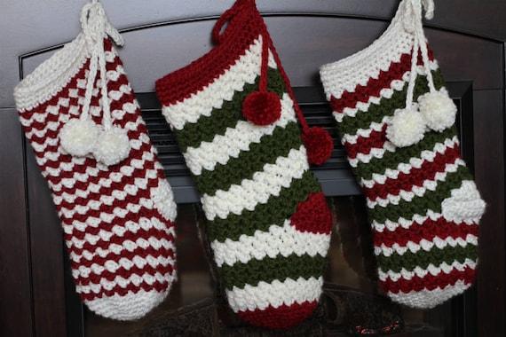 image 0 - Crochet Christmas Stockings