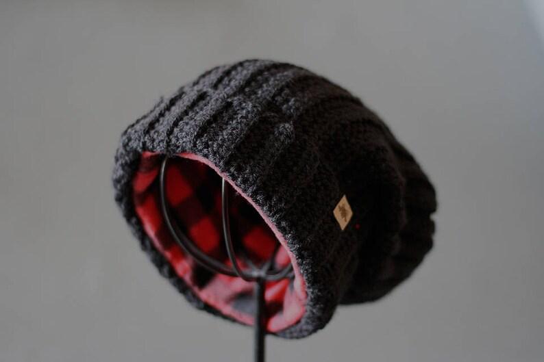 Crochet Hat Pattern Huntsman Slouchy Hat Crochet Pattern Etsy